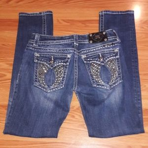 Miss Me skinny embellished angel wings jeans